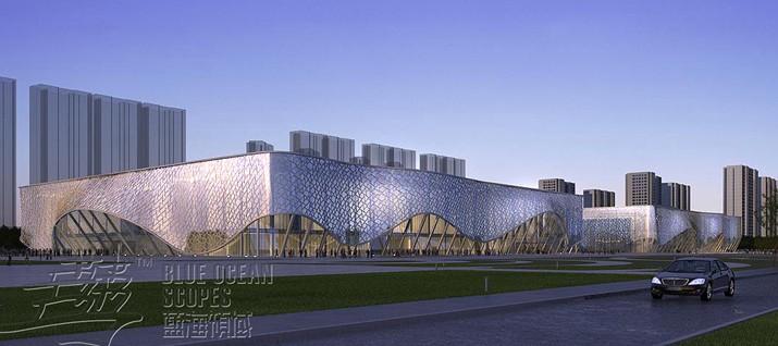 杉浩---河南新乡平原体育会展中心